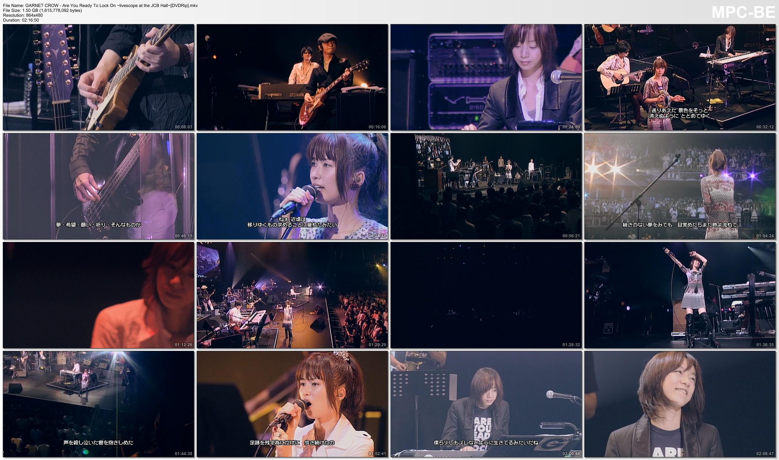 GARNET CROW - Are You Ready To Lock On ~livescope at the JCB Hall~[DVDRip].mkv_t.jpg